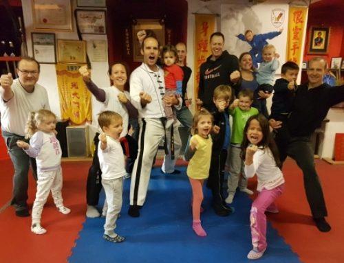 Eltern-Kind-Kung fu in Bruckdorf
