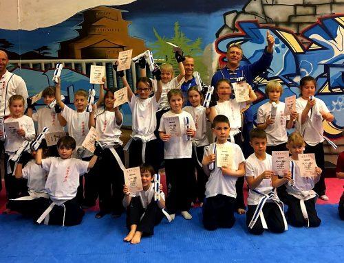 Kinder-Kung Fu: Erfolgreiche Prüfung Kelheim