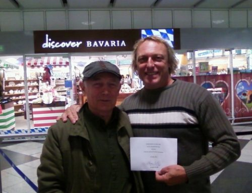 Ehrenbesuch von Meister George Sininski aus Moskau
